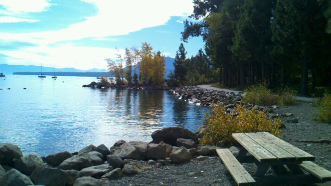 A Fall day on the West Shore of Lake Tahoe, California