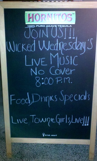 Wicked Wednesday's at the Blue Agave, Tahoe City, California
