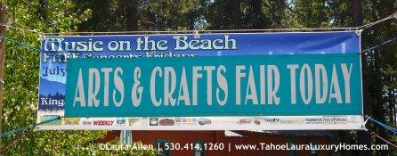 Arts and Crafts Fair, Kings Beach