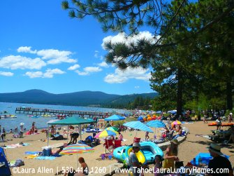 Tahoe Buyers' Real Estate Agent - Kings Beach Public Beaches