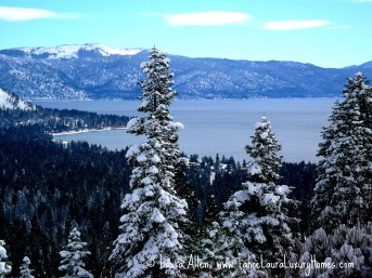 Tahoe Buyers' Real Estate Agent Agent -Kingswood Estates Looking towards Brockway Point