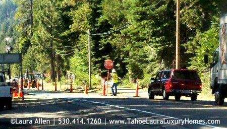 Traffic Delays in Homewood, California