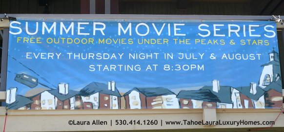 Free Summer Movies in Squaw Valley