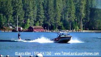 Wake Boarding on Lake Tahoe