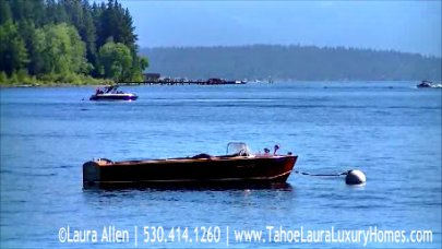 40th Annual Lake Tahoe Concours d'Elegance  Wooden Boat