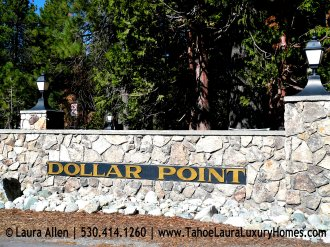 Entrance Sign into Dollar Point