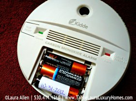 Tahoe Real Estate Winter Preparation Tips - Carbon Monoxide Alarm