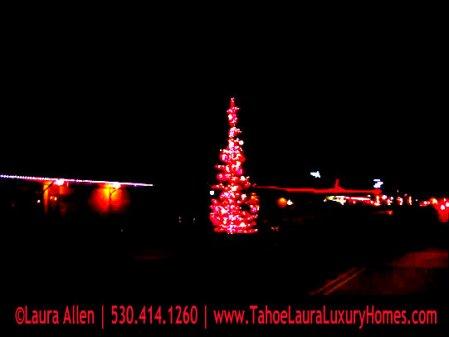 Holiday Tree Lighting – Truckee, California