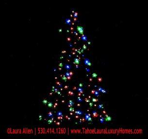 Tree Lighting – Tahoe Donner, Truckee, California