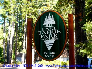 Tahoe Park, Tahoe City, California, Real Estate Market Report – October 2012
