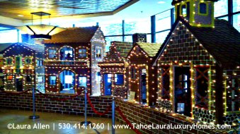 The Resort at Squaw Creek  – Gingerbread Village