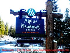 New Year's Eve in Alpine Meadows, California