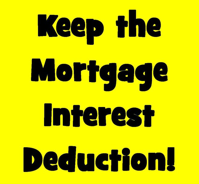 Keep the Mortgage Interest Deduction – Lake Tahoe, California