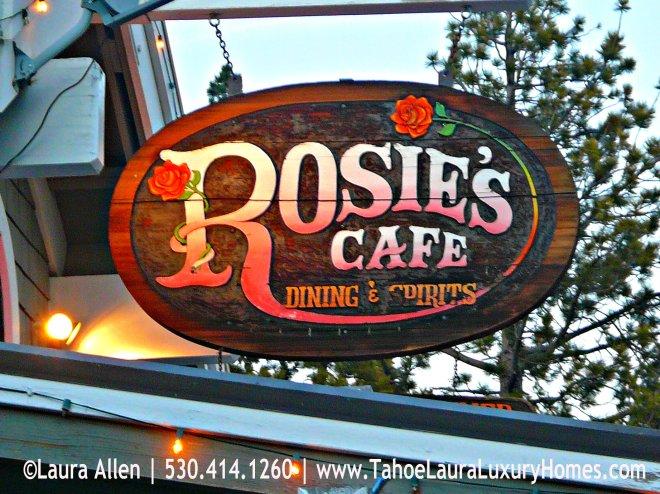Rosie's Cafe, Tahoe City, CA