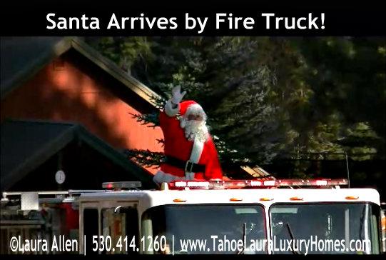 Santa's Party, Granlibakken Ski Resort – Tahoe City, California