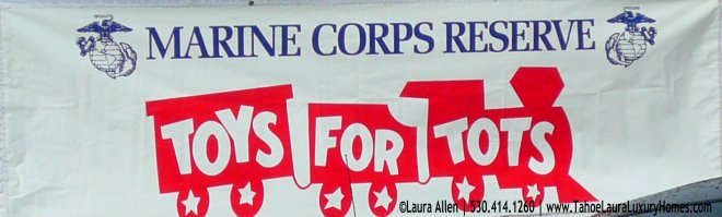 Toys for Tots, River Ranch Lodge - Alpine Meadows, California