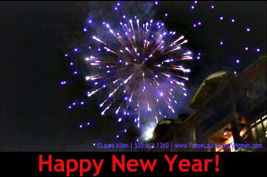 Happy New Year! Lake Tahoe, California – January 1, 2013
