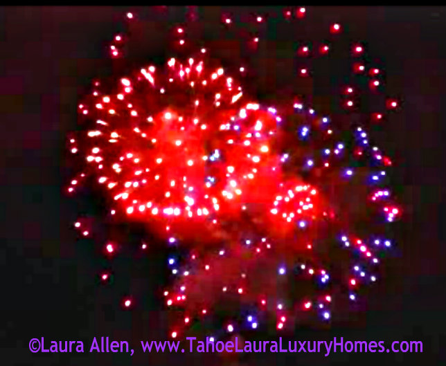 New Year's Eve Fireworks - Squaw Valley, California – December 31, 2012